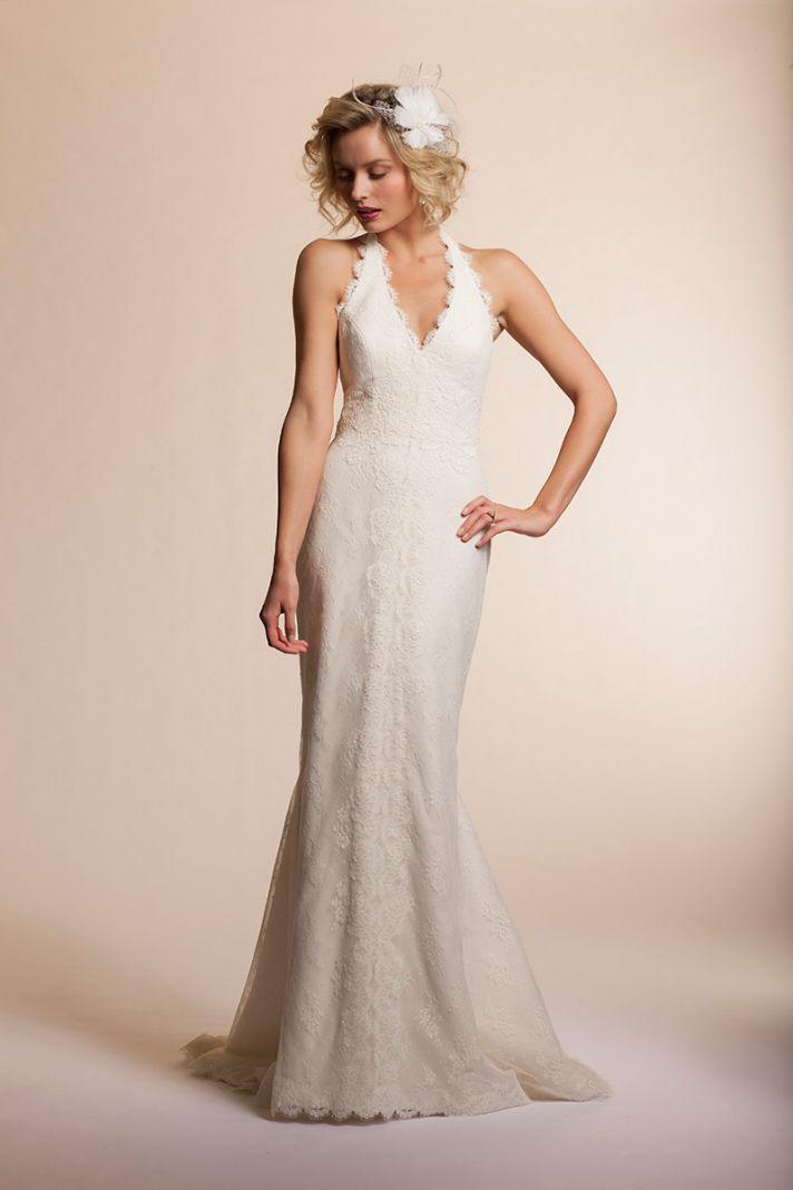 Halter Wedding Dresses 2013