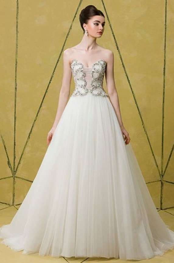Outer Space Wedding Dress