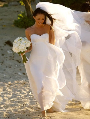 Beach Hawaiian Wedding Dresses