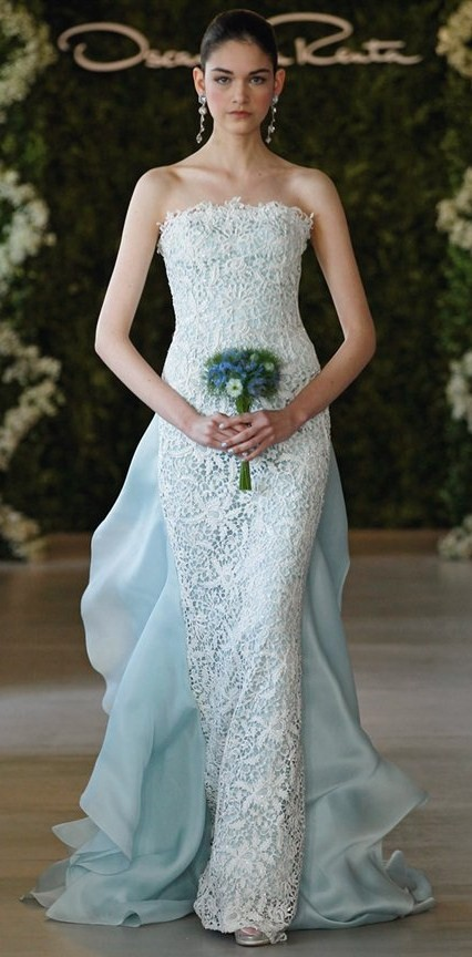 A simple guide for different wedding dress styles for Long straight wedding dresses