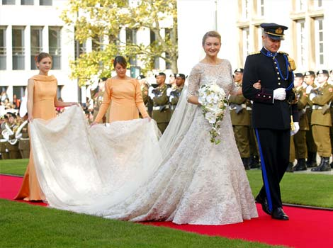Historic Princess Bride Dresses