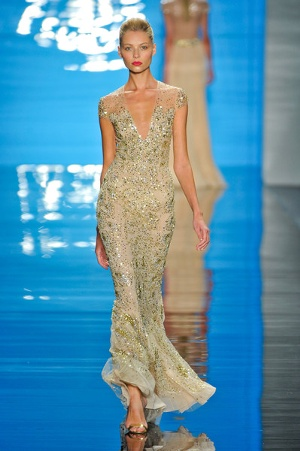 Yellow wedding dress try subtle shades of yellow with a champagne