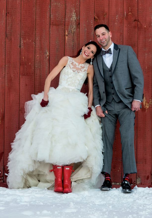 Get Creative With Accessorizing Your Winter Wedding Gowns